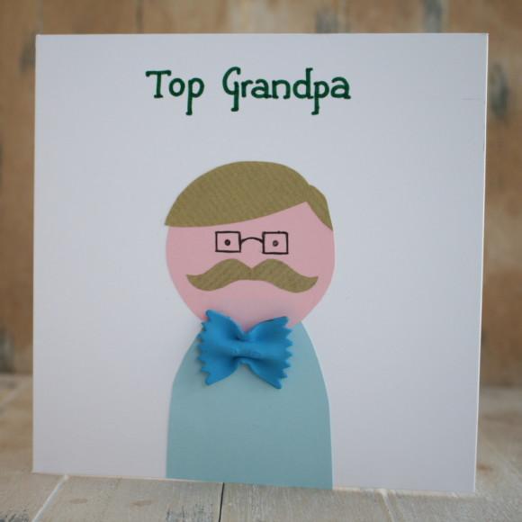 Как сделать открытку дедушке юбилей