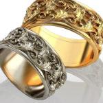 Материал обручального кольца