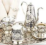 Серебряная посуда в качестве подарка