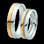 Обручальные кольца с бриллиантами: особенности украшений