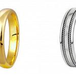 Обручальные кольца, классика и новомодные украшения