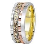 Как выбрать обручальные кольца, исходя из украшения камнями