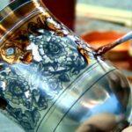 Как производят серебряные стопки?